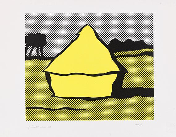 Roy Lichtenstein - Yellow Haystack