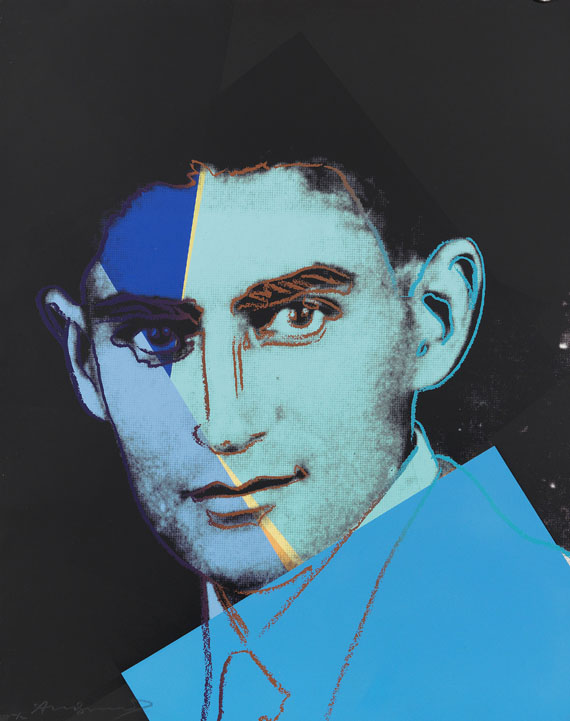 Andy Warhol - Franz Kafka (Ten Portraits of Jews of the Twentieth Century)