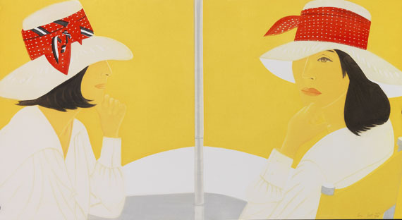 Alex Katz - Red Band