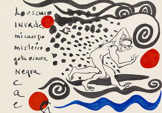 Alexander Calder - Los Oscuro Invade