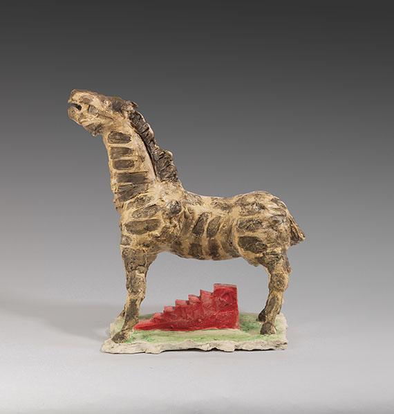 Markus Lüpertz - Trojanisches Pferd - Weitere Abbildung