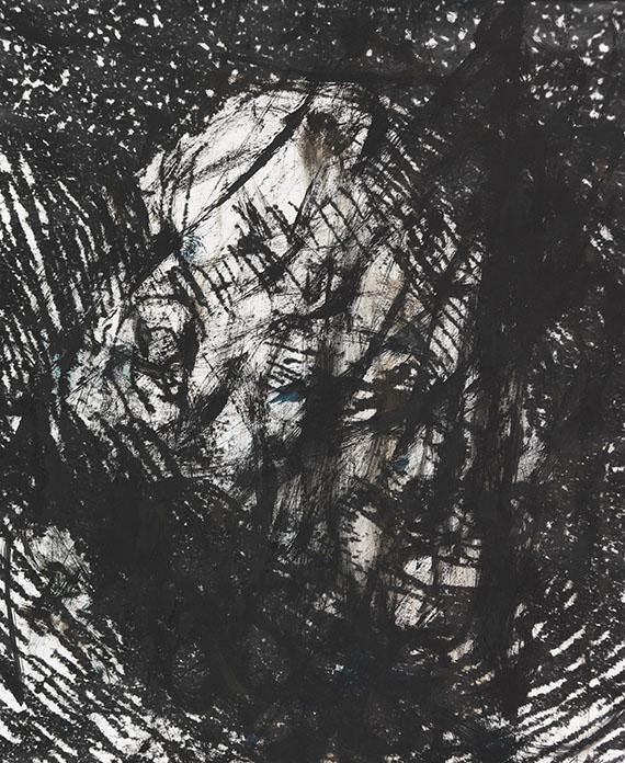 Arnulf Rainer - Ohne Titel (aus: Gesichter mit Goya)