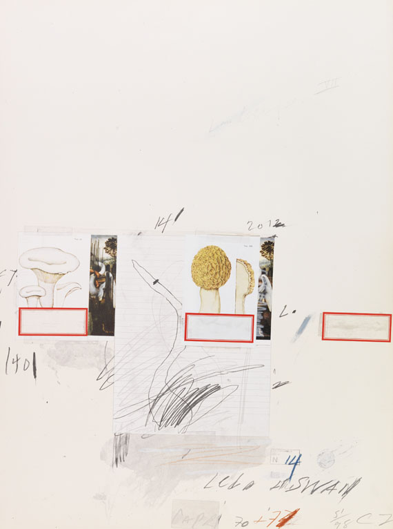 Cy Twombly - Natural History Part I, Mushrooms (No. I)