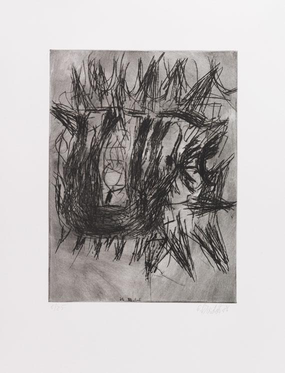 Georg Baselitz - Ohne Titel - Weitere Abbildung