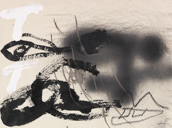 Antoni Tàpies - Esprai negre V