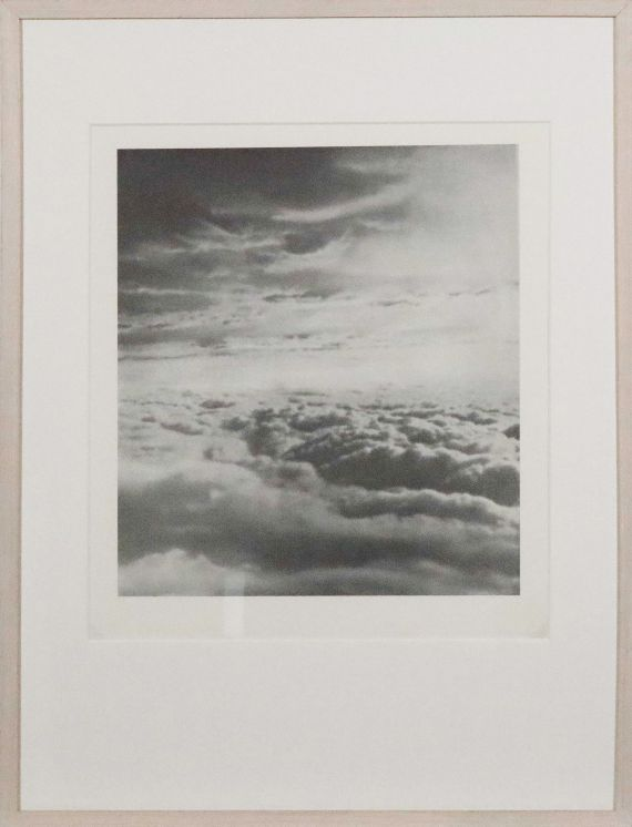 Gerhard Richter - Wolken - Rahmenbild