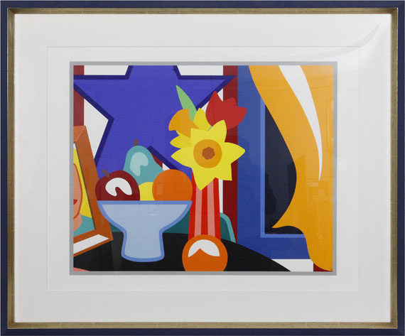 Tom Wesselmann - Still Life with Blowing Curtain Orange - Rahmenbild