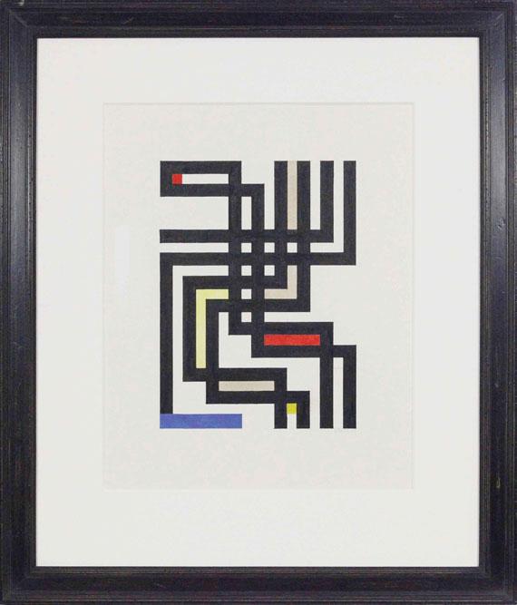 Walter Dexel - Bandwerk offen - Frame image