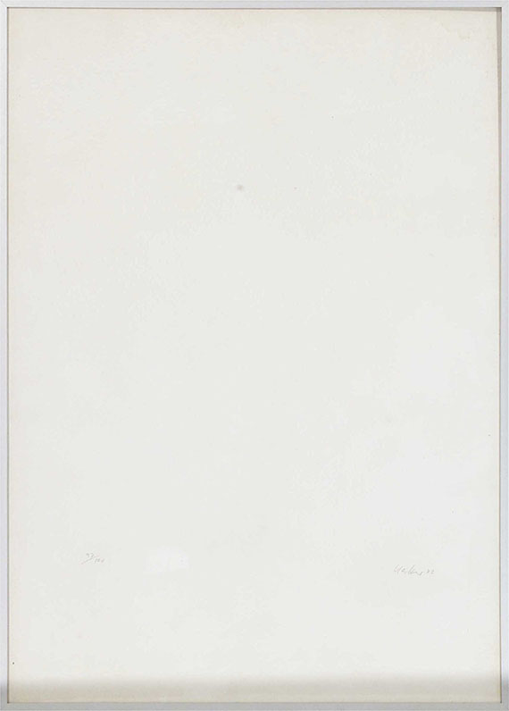 Günther Uecker - Ohne Titel - Rahmenbild