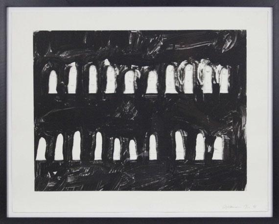Bruce Nauman - Verso Recto (State I) - Rahmenbild
