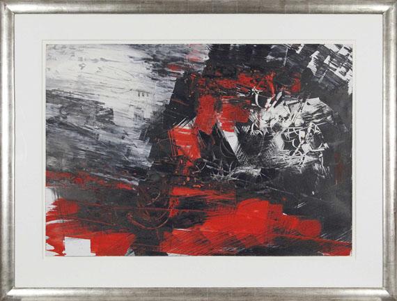 Fred Thieler - Ohne Titel - Rahmenbild