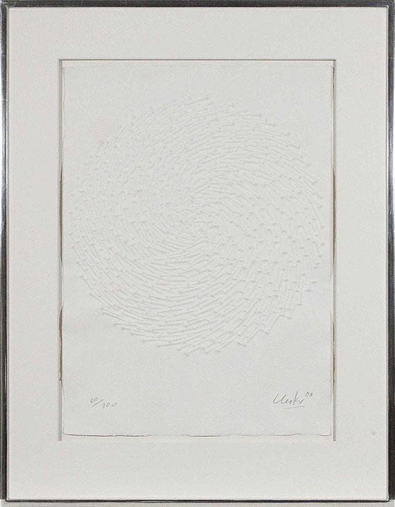 Günther Uecker - Spirale - Rahmenbild