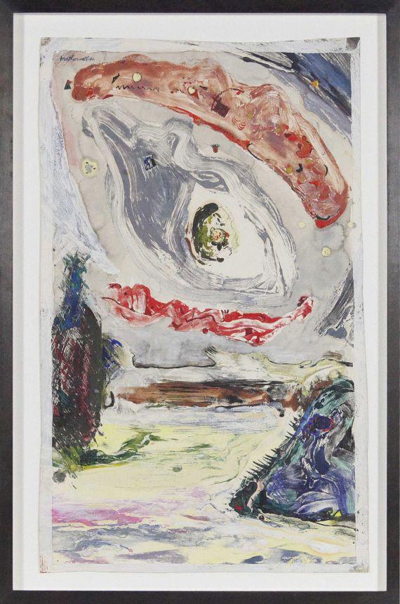 Robert Motherwell - Untitled - Rahmenbild