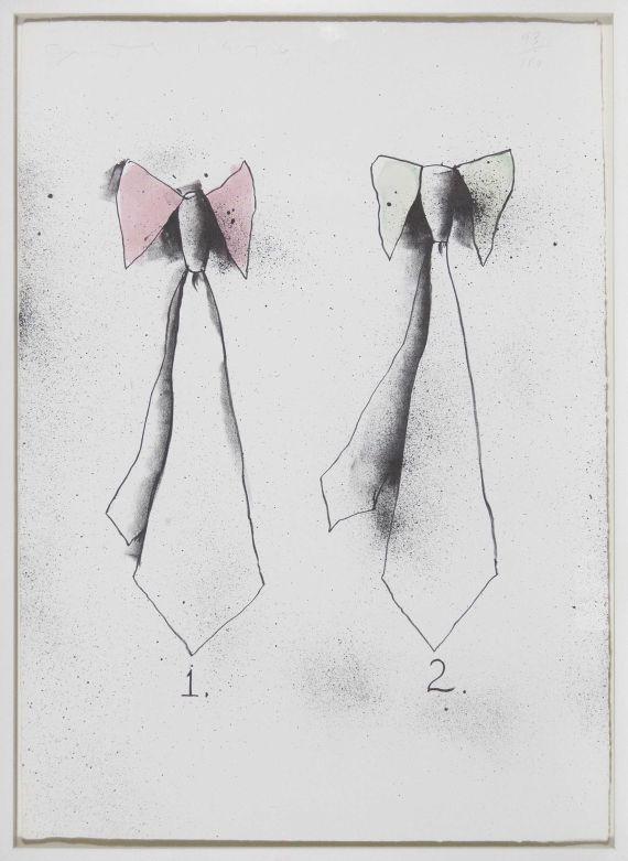 Jim Dine - Ties - Rahmenbild
