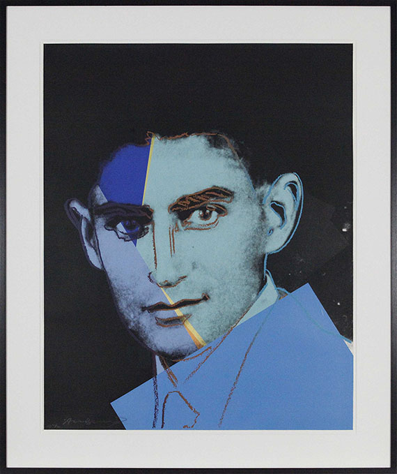 Andy Warhol - Franz Kafka (Ten Portraits of Jews of the Twentieth Century) - Rahmenbild