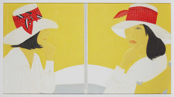 Alex Katz - Red Band - Frame image