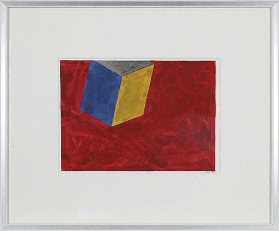 Sol LeWitt - Tilted Form - Rahmenbild