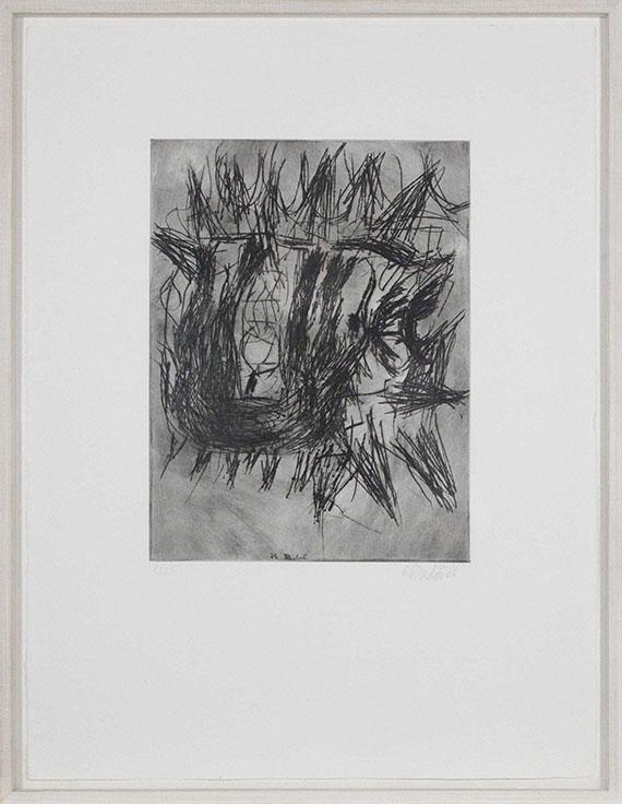 Georg Baselitz - Ohne Titel - Rahmenbild