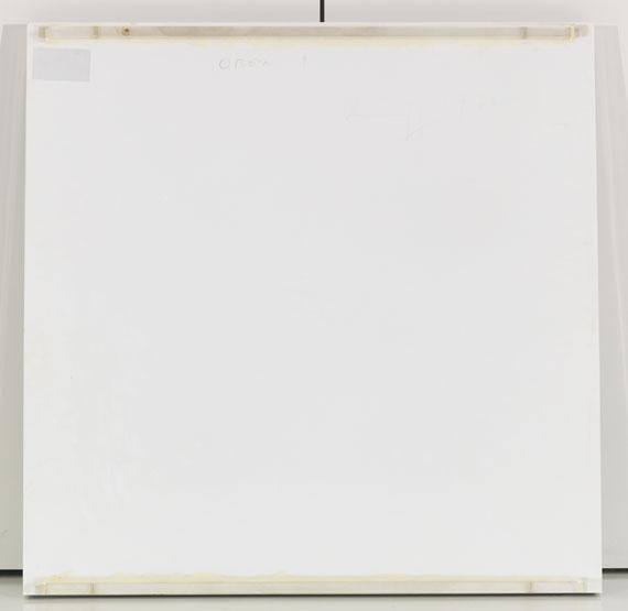Erich Reusch - Elektrostatisches Objekt - Rückseite