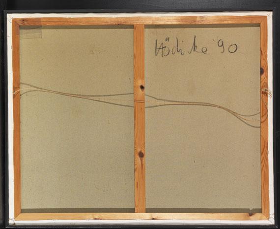 K. H. Hödicke - Fuchsien - Rückseite