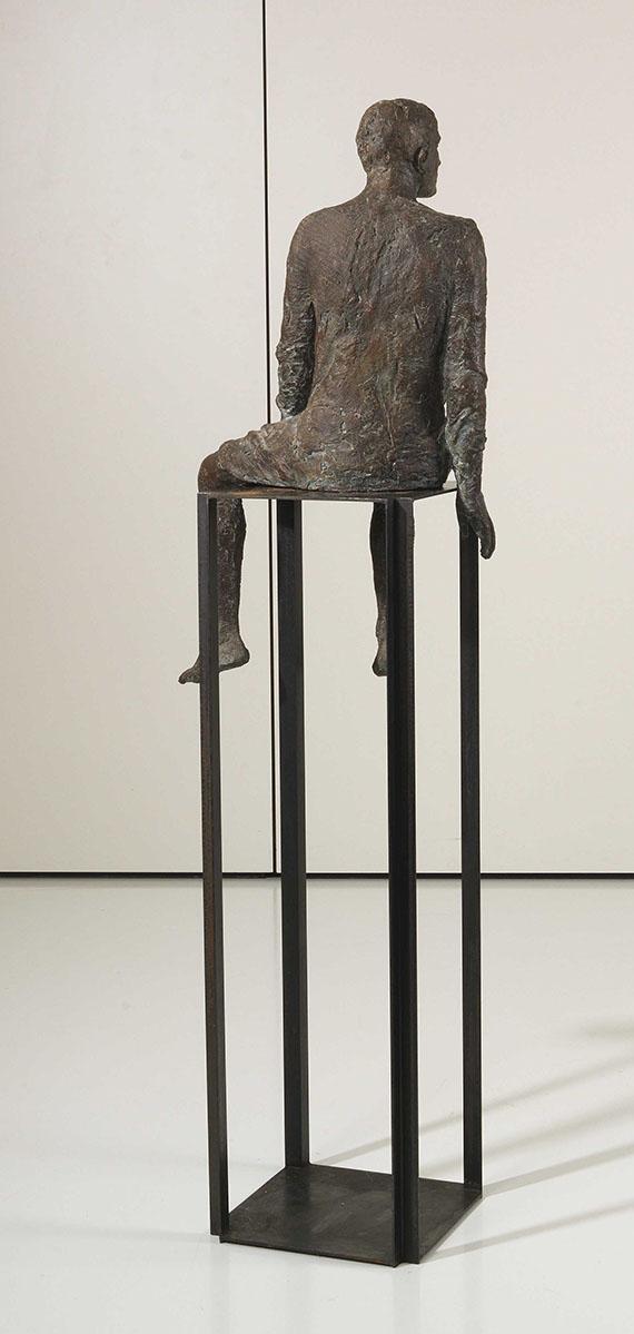 Hanneke Beaumont - Ohne Titel (Bronze No. 6) - Back side