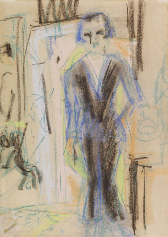 Ernst Ludwig Kirchner - Dame stehend