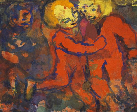 Emil Nolde - Spielende Kinder