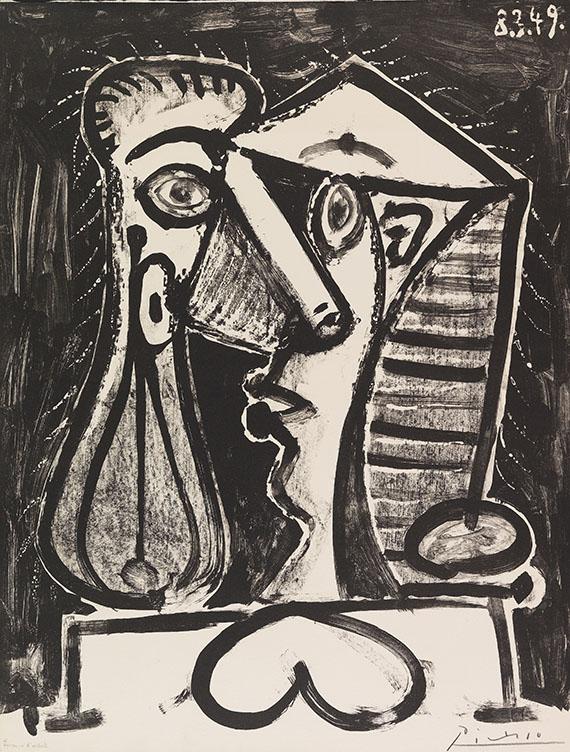 Pablo Picasso - Figure composée II