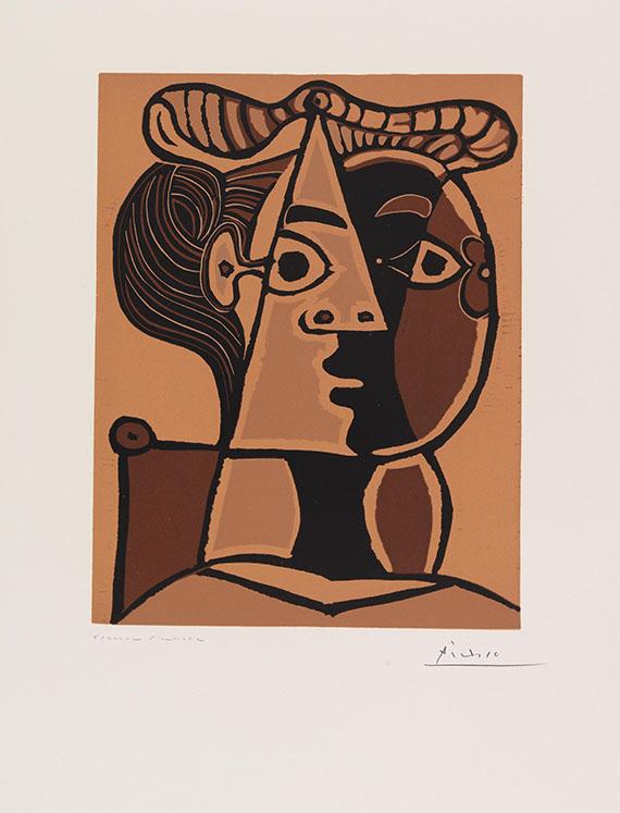 Pablo Picasso - Femme assise au Chignon