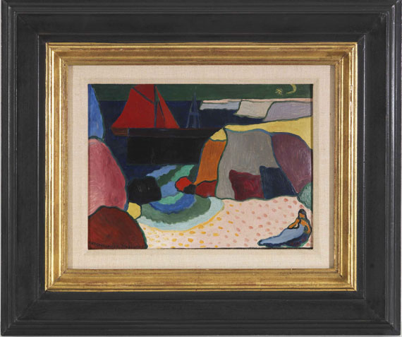 Andreas Jawlensky - Ile d'Ouessant - Port d'Harant - Frame image