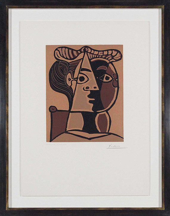 Pablo Picasso - Figure composée II - Rahmenbild