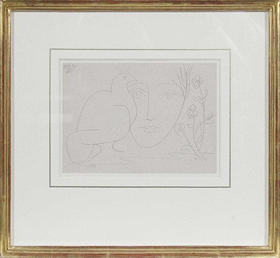 Pablo Picasso - Visage de la Paix III - Frame image