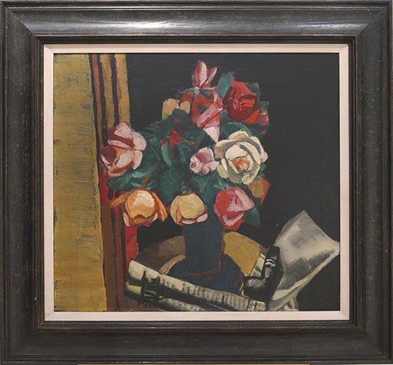 Max Beckmann - Stilleben mit Rosen - Frame image