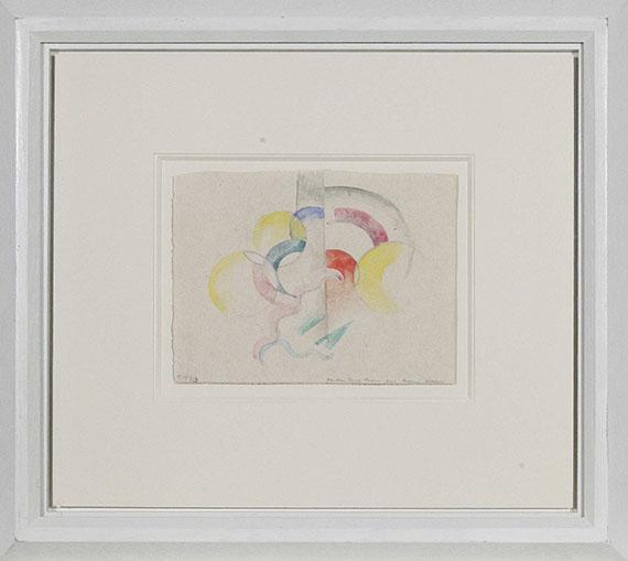 Franz Marc - Abstraktes Aquarell I - Rahmenbild