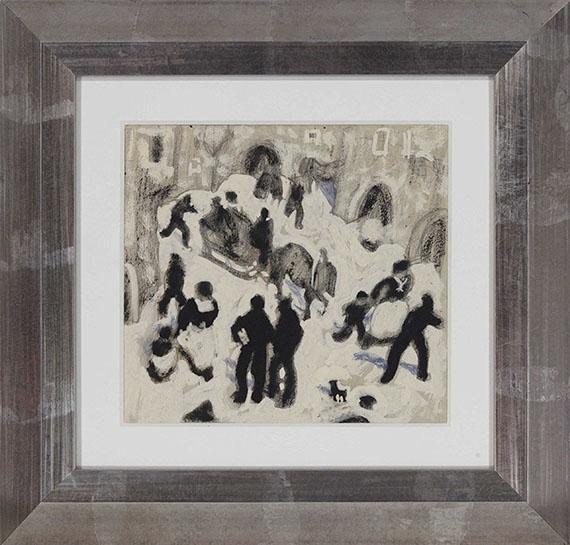 Alfons Walde - Im Winter - Rahmenbild