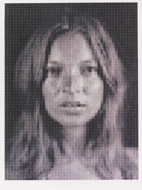 Chuck Close - Kate