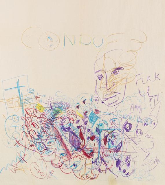 George Condo - Ohne Titel