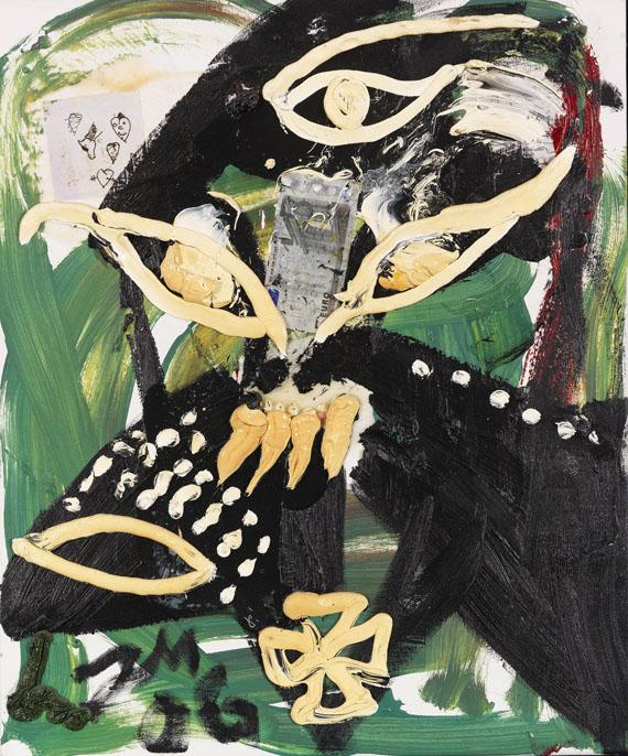 Jonathan Meese - Dampfkraft der Kunst (Du bist ein Tier)