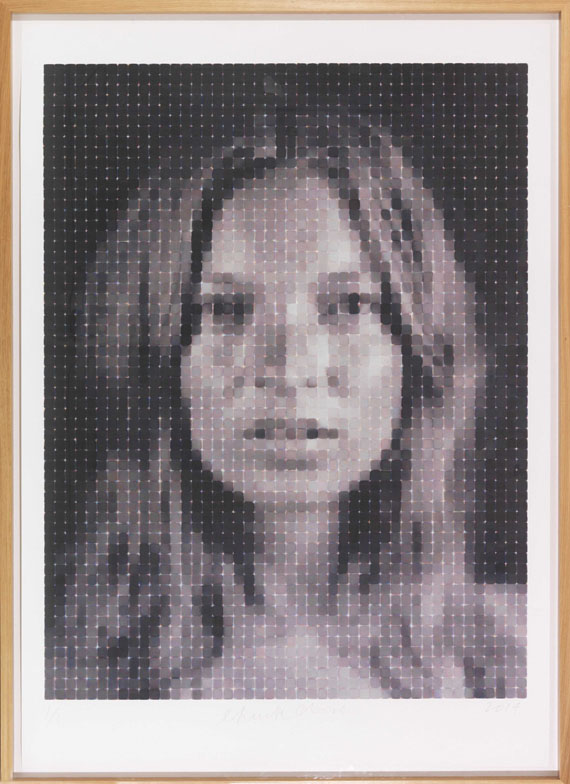Chuck Close - Kate - Rahmenbild