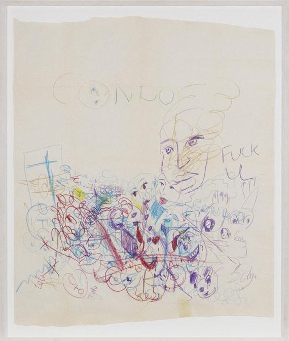 George Condo - Ohne Titel - Rahmenbild