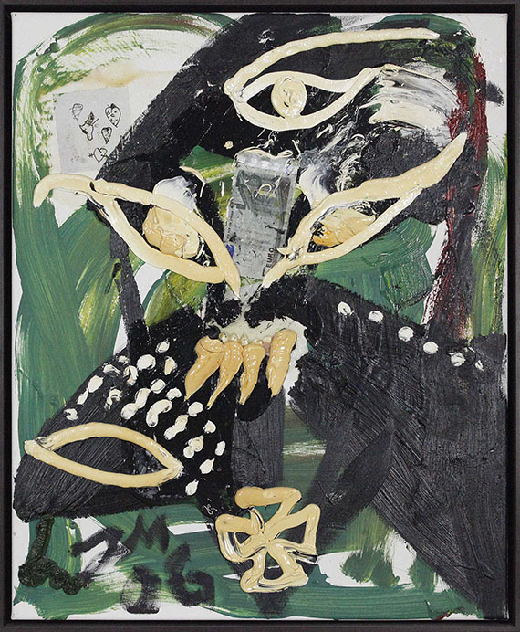 Jonathan Meese - Dampfkraft der Kunst (Du bist ein Tier) - Rahmenbild