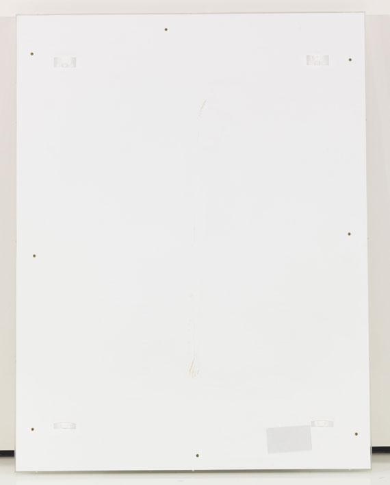 Dan Colen - Gum painting - Rückseite
