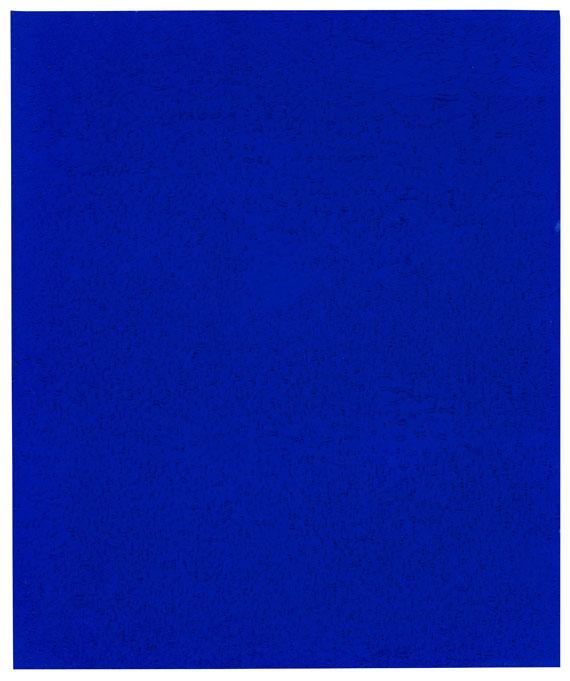 Yves Klein - Monochrome bleu (IKB 242 A)