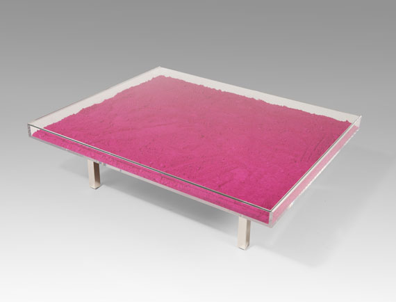 Yves Klein - Table MonopinkTM