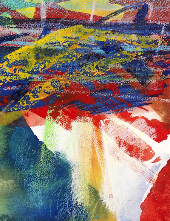 Gerhard Richter - Gebirge -