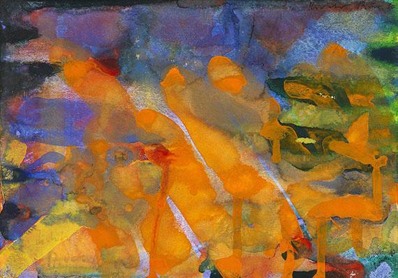 Gerhard Richter - Ohne Titel (17.Okt.1990)