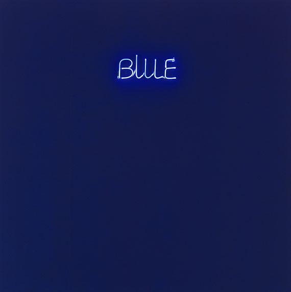 Maurizio Nannucci - Blue