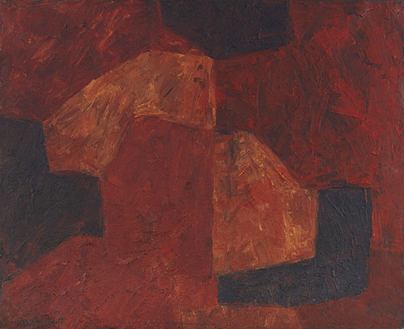 Serge Poliakoff - Composition abstraite