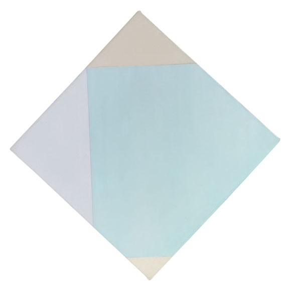 Max Bill - Helles Doppelquadrat