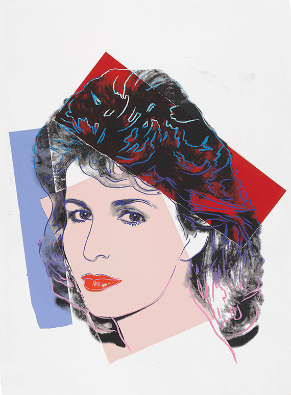 Andy Warhol - Sally Quinn